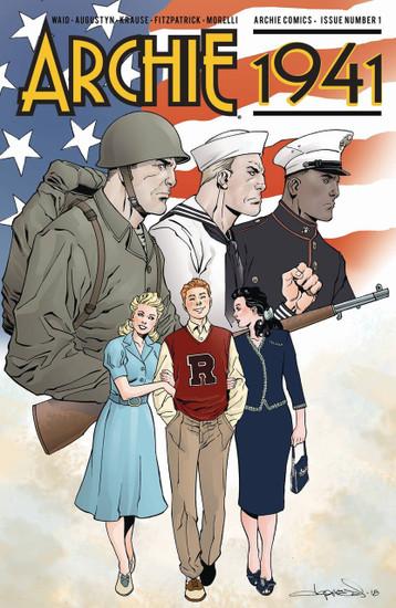 Archie Comic Publications Archie 1941 #1 Comic Book [Cover E]