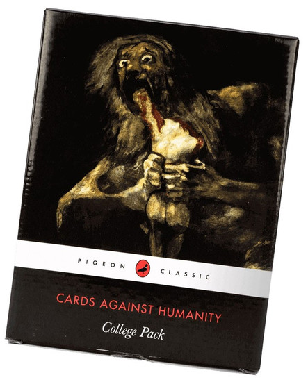 Cards Against Humanity College Pack Card Game Expansion