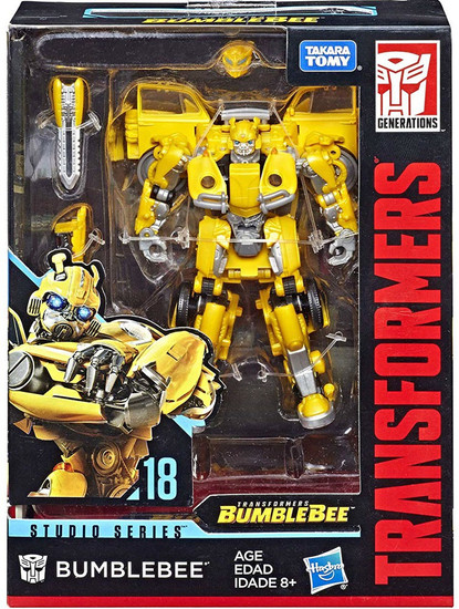 Transformers Generations Studio Series Bumblebee Deluxe Action Figure #18 [New Version]