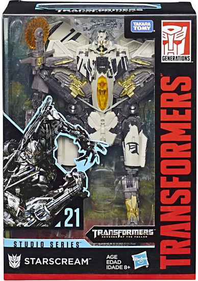 Transformers Generations Studio Series Starscream Voyager Action Figure #21 [Version 2]