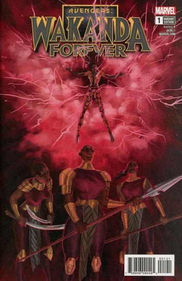 Marvel Comics Wakanda Forever The Avengers #1 Comic Book [Del Ray Variant Cover]