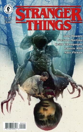 Dark Horse Stranger Things #2 Comic Book [Ruth Variant Cover]