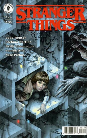 Dark Horse Stranger Things #2 Comic Book [Morris Variant Cover]