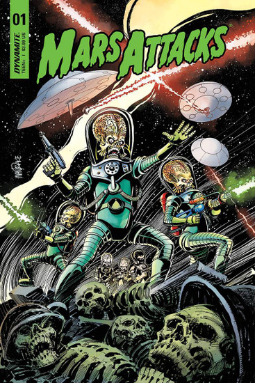 Dynamite Entertainment Mars Attacks #1 Comic Book