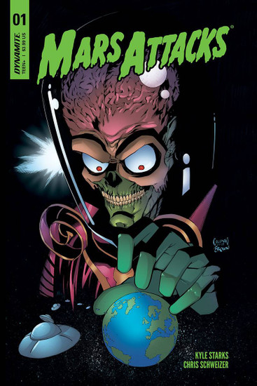 Dynamite Entertainment Mars Attacks #1 Comic Book [Cover B Coleman Variant]