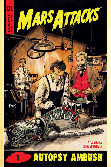Dynamite Entertainment Mars Attacks #1 Comic Book [Cover D Hack Variant]