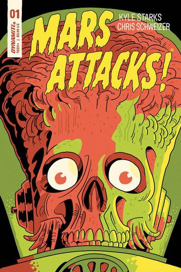Dynamite Entertainment Mars Attacks #1 Comic Book [Cover E Schweizer Variant]