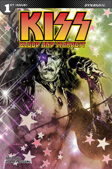 Dynamite Entertainment Kiss Blood Stardust #1 Comic Book [Cover B Sayger Starchild Variant]