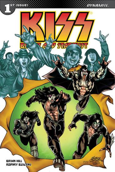 Dynamite Entertainment Kiss Blood Stardust #1 Comic Book [Cover E Buchemi Variant]