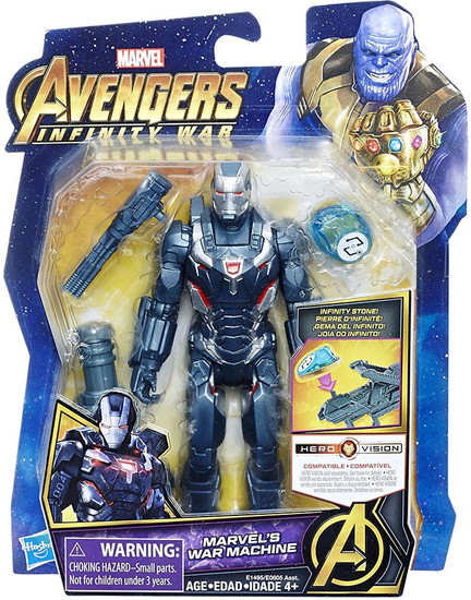 Marvel Avengers Infinity War War Machine Action Figure [with Stone]