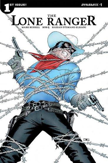 Dynamite Entertainment Lone Ranger Vol 3 #1 Comic Book [Cover A]