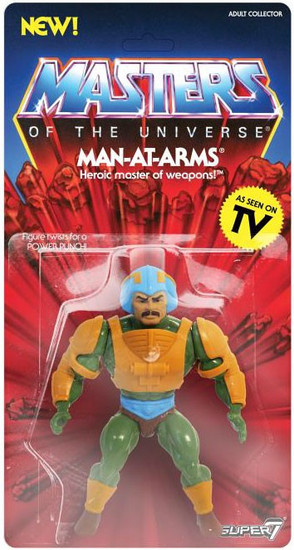Masters of the Universe Vintage Series 2 Man-At-Arms Action Figure