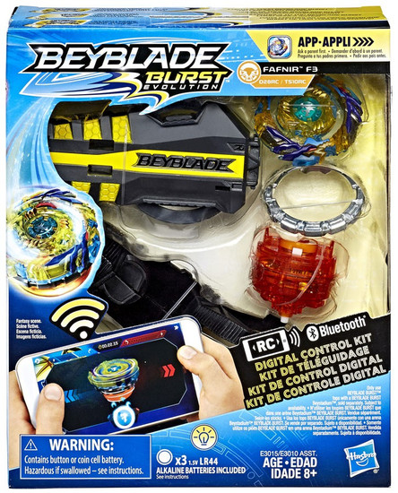 Beyblade Burst Evolution Digital Control Fafnir F3 Starter Pack