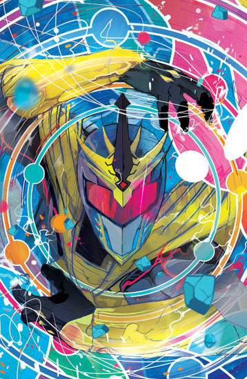 Boom Studios Mighty Morphin Power Rangers #1 Shattered Grid Comic Book [Ward Variant Cover]