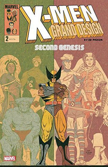 Marvel Comics X-Men Grand Design #2 Second Genesis Comic Book