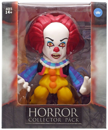 Horror IT Movie (1990) Pennywise Exclusive Vinyl Figure [Fangs]