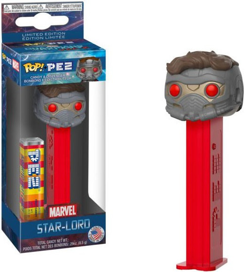 Funko Marvel Guardians of the Galaxy Vol. 2 POP! PEZ Star-Lord Candy Dispenser