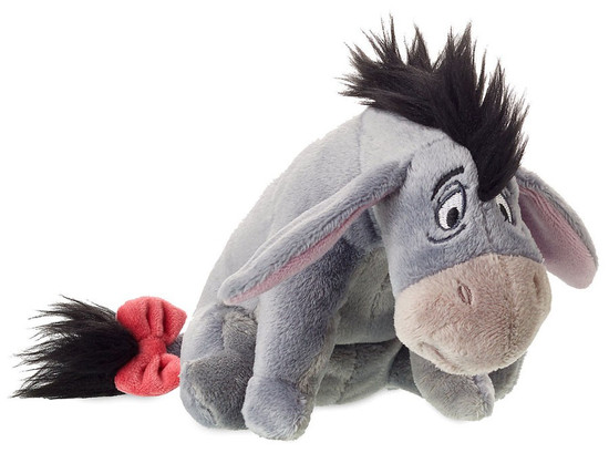 Disney Winnie the Pooh Eeyore Exclusive 5-Inch Mini Bean Bag Plush