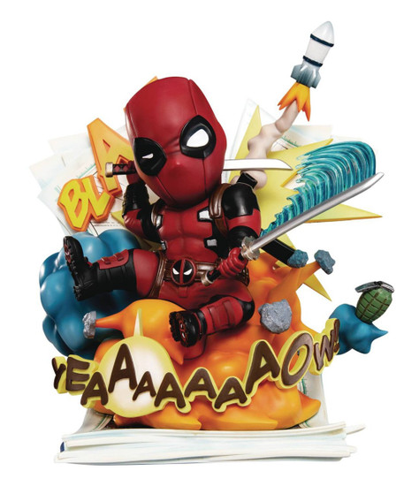 Marvel Deadpool 3.5-Inch Statue EA-039 [Cut Off the Fourth Wall]