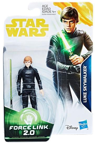 Star Wars Return of the Jedi Force Link 2.0 Luke Skywalker Action Figure