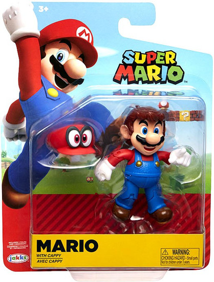 World of Nintendo Wave 15 Mario Action Figure [with Cappy]