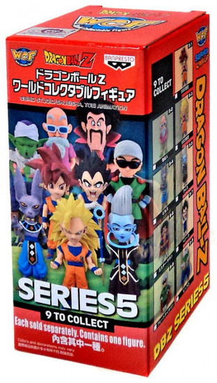 Dragon Ball Super WCF Volume 5 2.5-Inch Mystery Pack