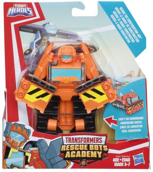 Transformers Playskool Heroes Rescue Bots Wedge Plow Action Figure [Rescan]