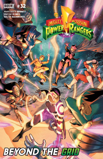Boom Studios Mighty Morphin Power Rangers #32 Beyond The Grid Comic Book