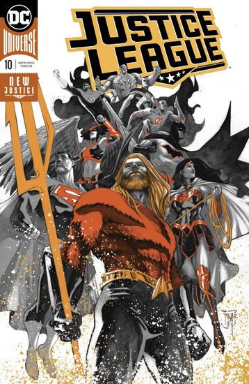 DC Justice League #10 Drowned Earth Comic Book [Foil]