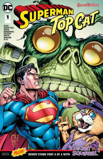 DC Superman & Top Cat Special #1 Comic Book