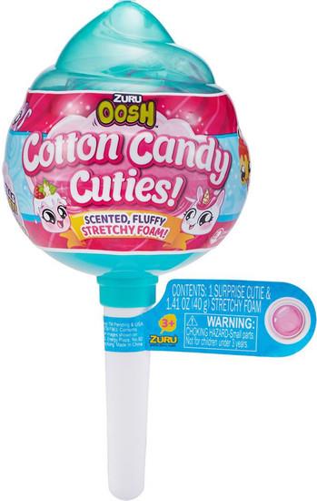 Oosh Cotton Candy Cuties Stretchy Foam Series 1 MEDIUM Pop Mystery Pack [RANDOM Color!]