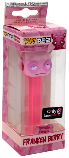 Funko General Mills Monster Cereals POP! PEZ Franken Berry Exclusive Candy Dispenser