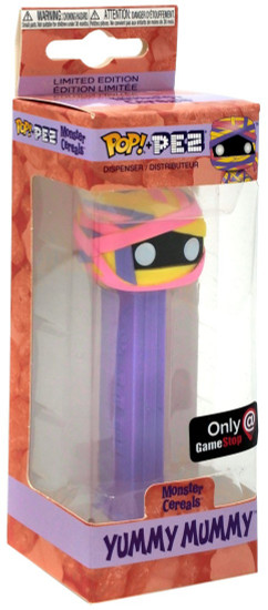 Funko Monster Cereals POP! PEZ Yummy Mummy Exclusive Candy Dispenser