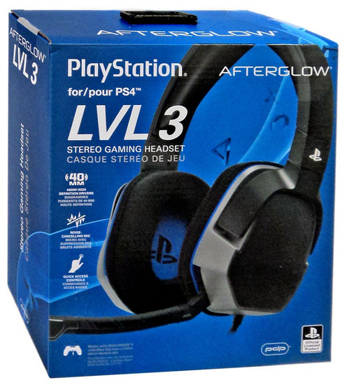 Playstation Afterglow LVL 3 Wired Headset [PS4]