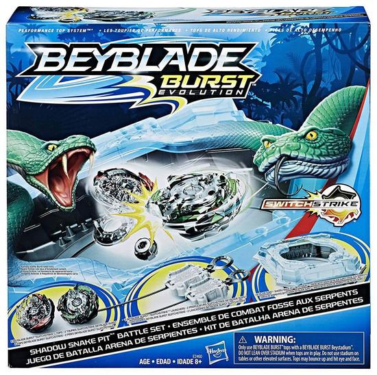 Beyblade Burst Shadow Snake Pit Exclusive Battle Set