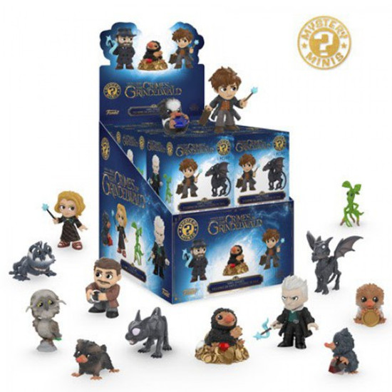 Funko Mystery Minis Fantastic Beasts The Crimes of Grindelwald Mystery Box [12 Packs]