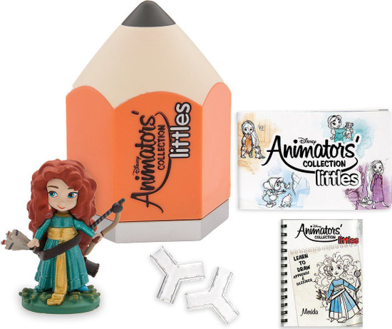 Disney Littles Animators' Collection Series 7 Exclusive Mystery Pack [Orange]