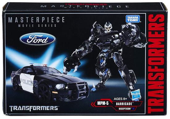 Transformers Masterpiece Movie Series Barricade Action Figure MPM-5