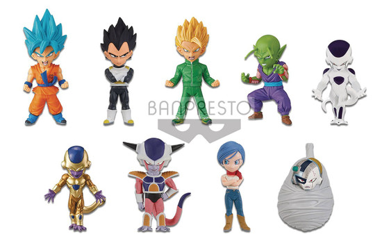 Dragon Ball Z WCF Resurrection F 2.5-Inch Box [12 Figures]