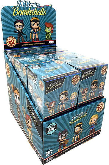 Funko DC Mystery Minis Bombshells Exclusive Mystery Box [12 Packs, Specialty Series]