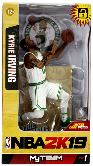 McFarlane Toys Boston Celtics NBA 2K19 MyTeam Series 1 Kyrie Irving Action Figure