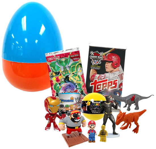 ToyWiz Mystery Egg Boy's Holiday Surprise [Over $45 Value!]