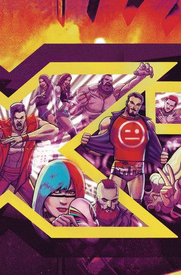 Boom Studios WWE NXT Takeover #1 Into the Fire Comic Book [Dalfanso Variant Cover]