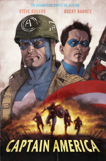 Marvel Comics Captain America #1 Annual Comic Book [Andrews Variant Cover]