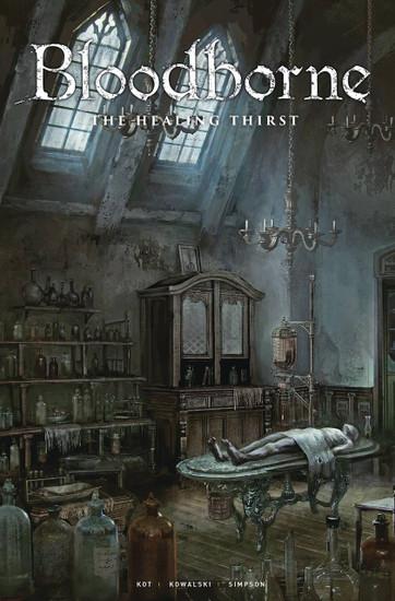 Titan Comics Bloodborne #5 Comic Book [Cover C Game Art]