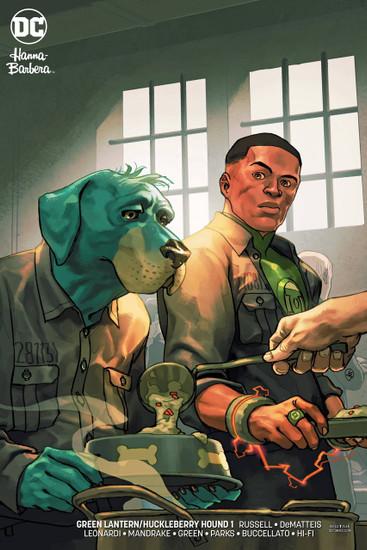 DC Green Lantern & Huckleberry Hound Special #1 Comic Book [Variant]