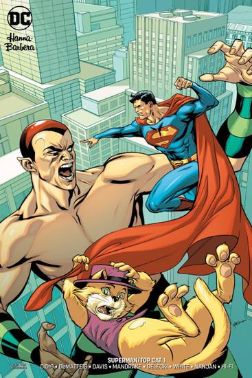 DC Superman & Top Cat Special #1 Comic Book [Variant]