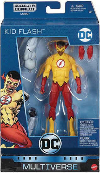 DC Multiverse Lobo Series Kid Flash (Wallace West) Action Figure [Teen Titans]