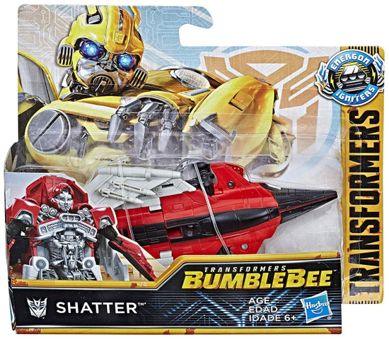 Transformers Bumblebee Movie Energon Igniters Power Shatter Action Figure