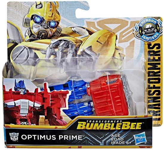 Transformers Bumblebee Movie Energon Igniters Power Optimus Action Figure